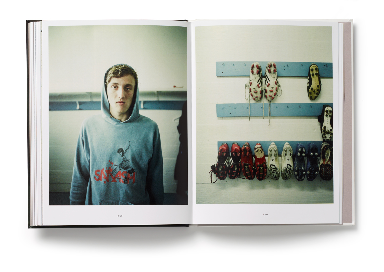 An inside spread from Rafal Milach's In The Car with R, which is part of a group project about Iceland, done by Polish photographers from collective Sputnik Photos during 2010. Five Polish photographers and five Icelandic writers have been working together to show their view on contemporary Iceland through personal, individual stories of Icelanders.