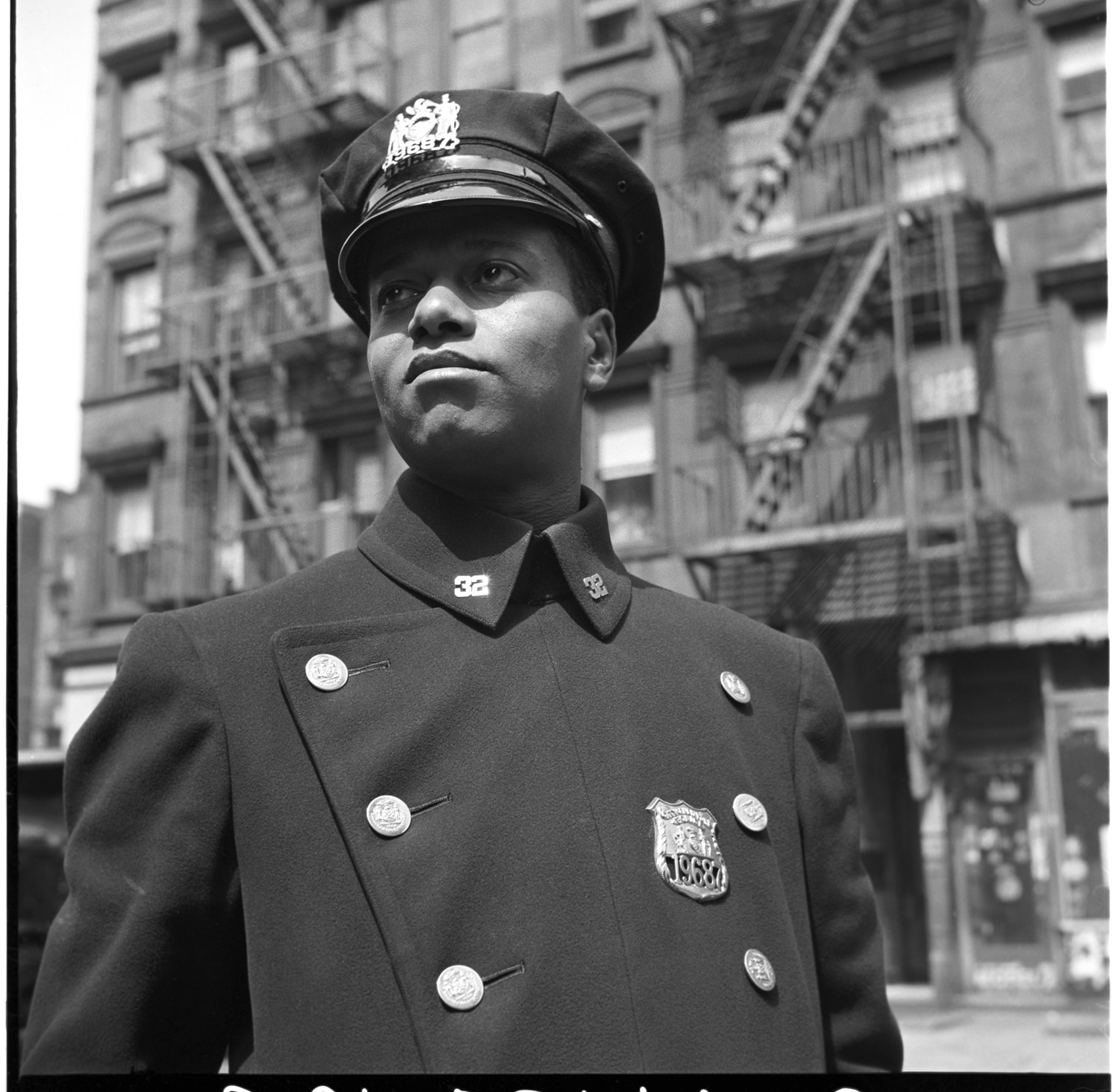 A police man in New York City, May 1943.