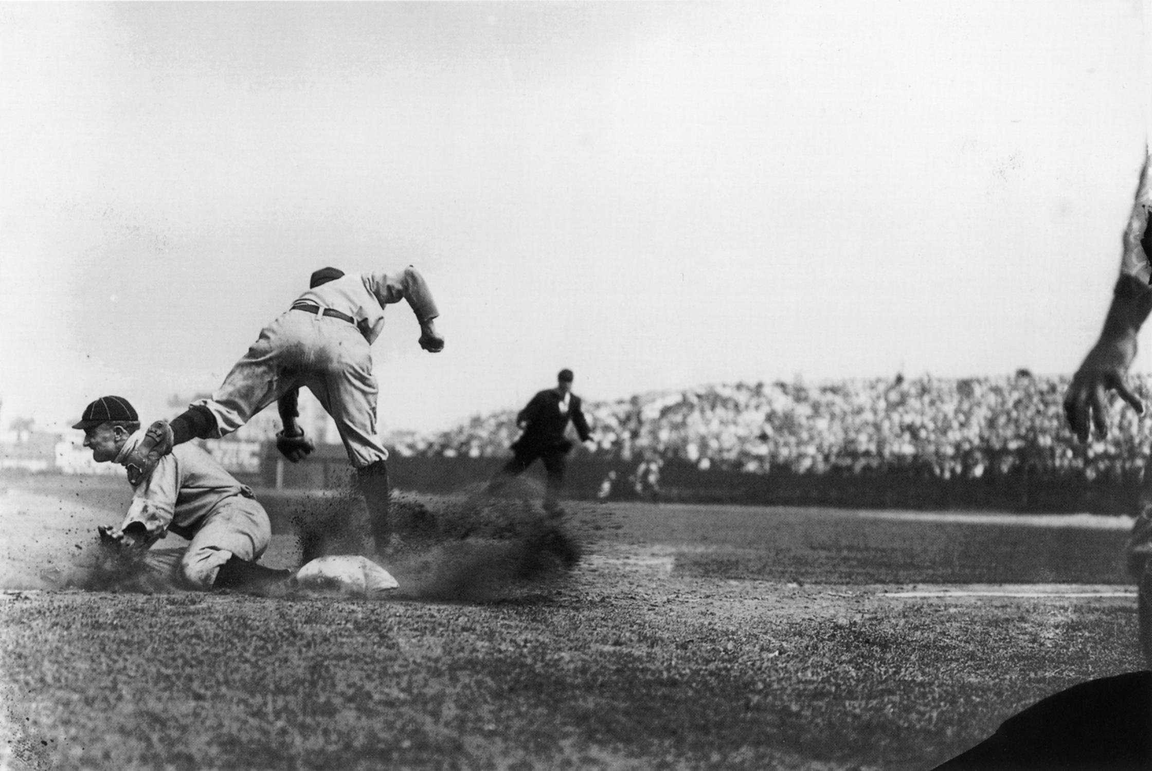 Ty Cobb, Detroit Tigers, 1910.