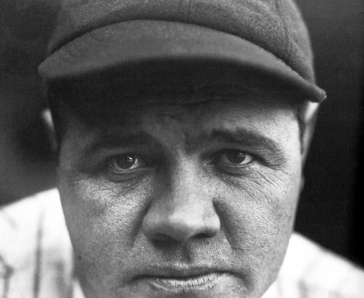 Babe Ruth, New York Yankees, 1927.