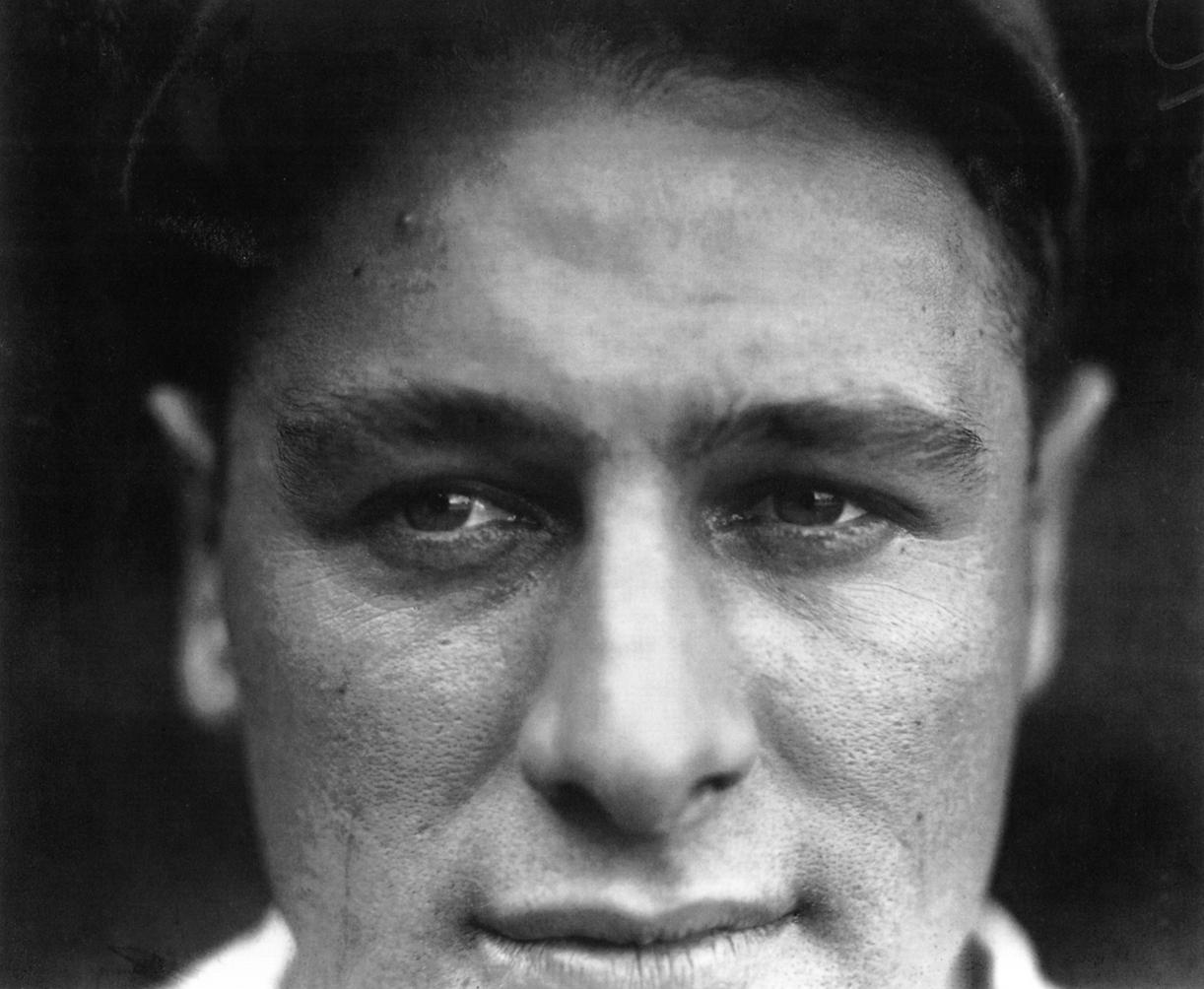 Lou Gehrig, New York Yankees, 1927.