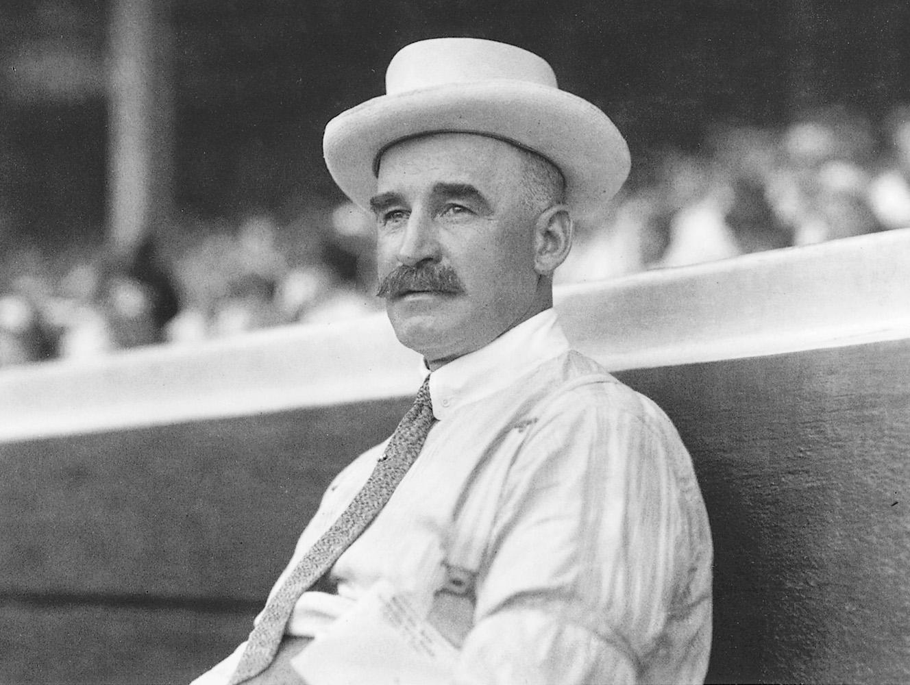 Joseph Lannin, Boston Red Sox Owner, circa 1914.