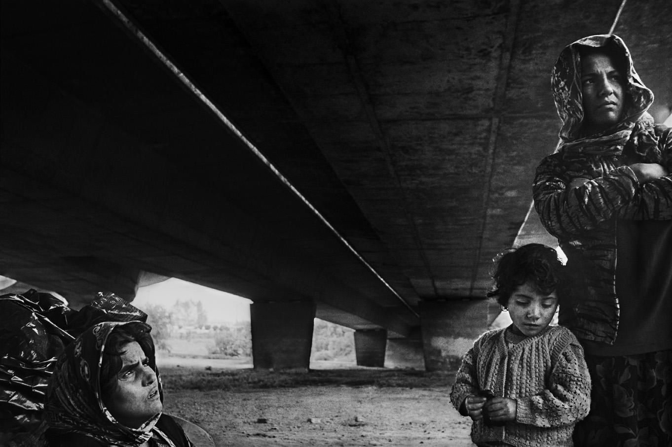 Adile, Aliye and a friend, Istanbul. 2002
