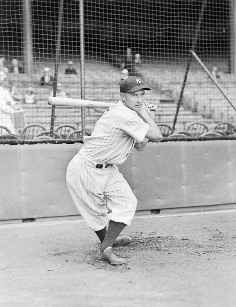Jake Powell, New York Yankees, 1936.