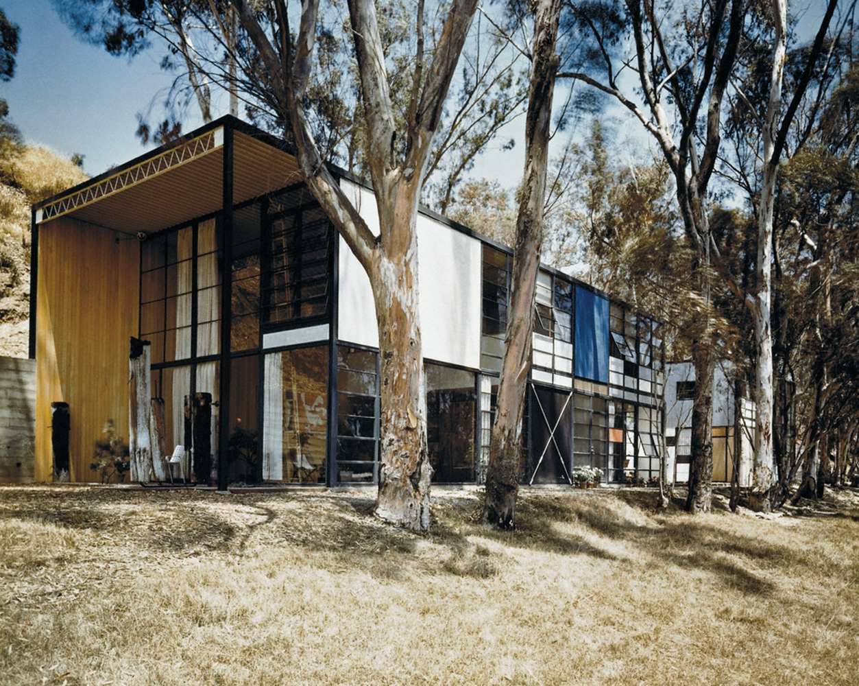 Case Study House #8, Pacific Palisades, CA. 1958 Charles & Ray Eames, architects
