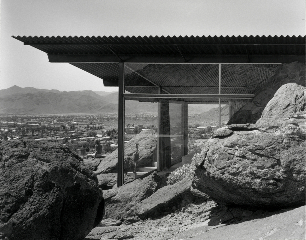 Frey House II, Palm Springs, CA. 1953 Albert Frey, architect