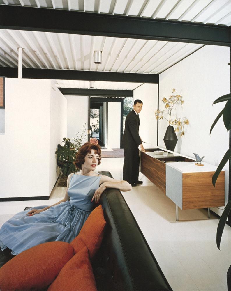 "Case Study House #21 (""Hi Fi""), Los Angeles, CA. 1958 Pierre Koenig, architect"