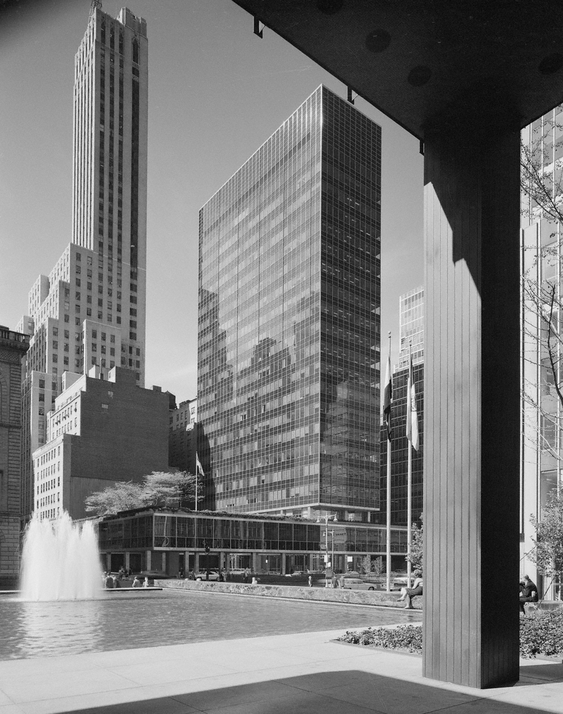 Lever House, New York. 1959 Skidmore, Owings and Merrill, architects