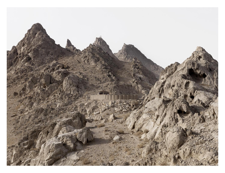 Mountain Position. Mas sum Ghar. Kandahar Province. Afghanistan, 2011.