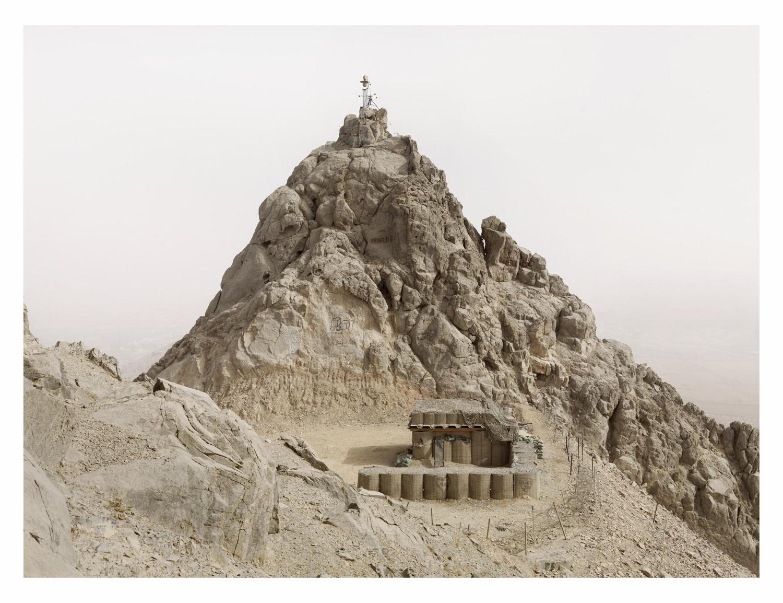 Observation Post. FOB Ma sum Ghar. Kandahar Province. Afghanistan, 2011.