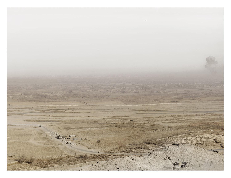 View. FOB Ma sum Ghar. Kandahar Province. Afghanistan, 2011.