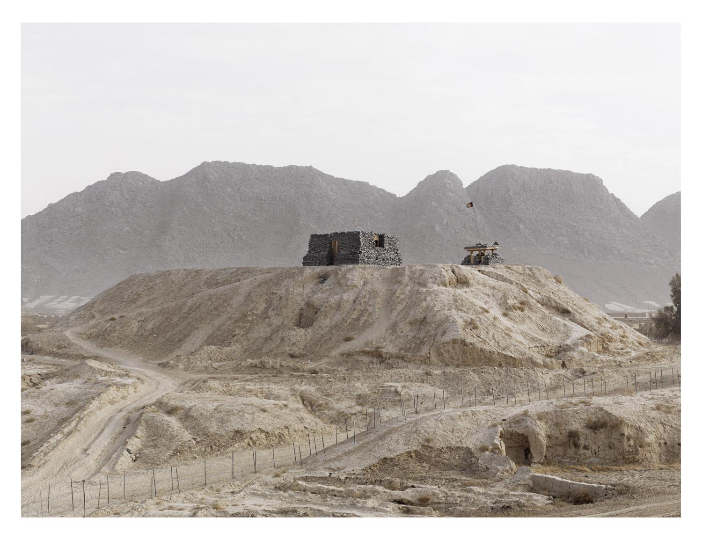 Outpost. COP Folad. Kandahar Province. Afghanistan, 2011.