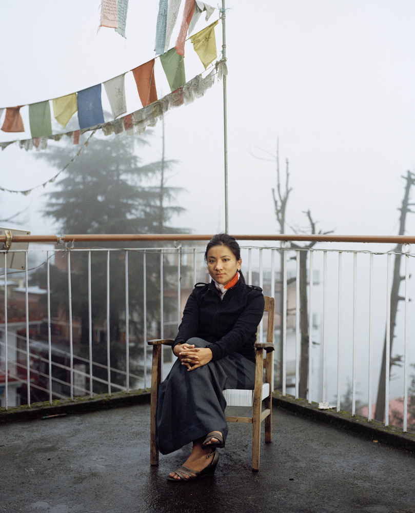 Dhardon Sharling is an activist with the Tibetan Women's Asscociation and was elected as a Member of Parliament in the Tibetan government in exile. She's the youngest member of the house.