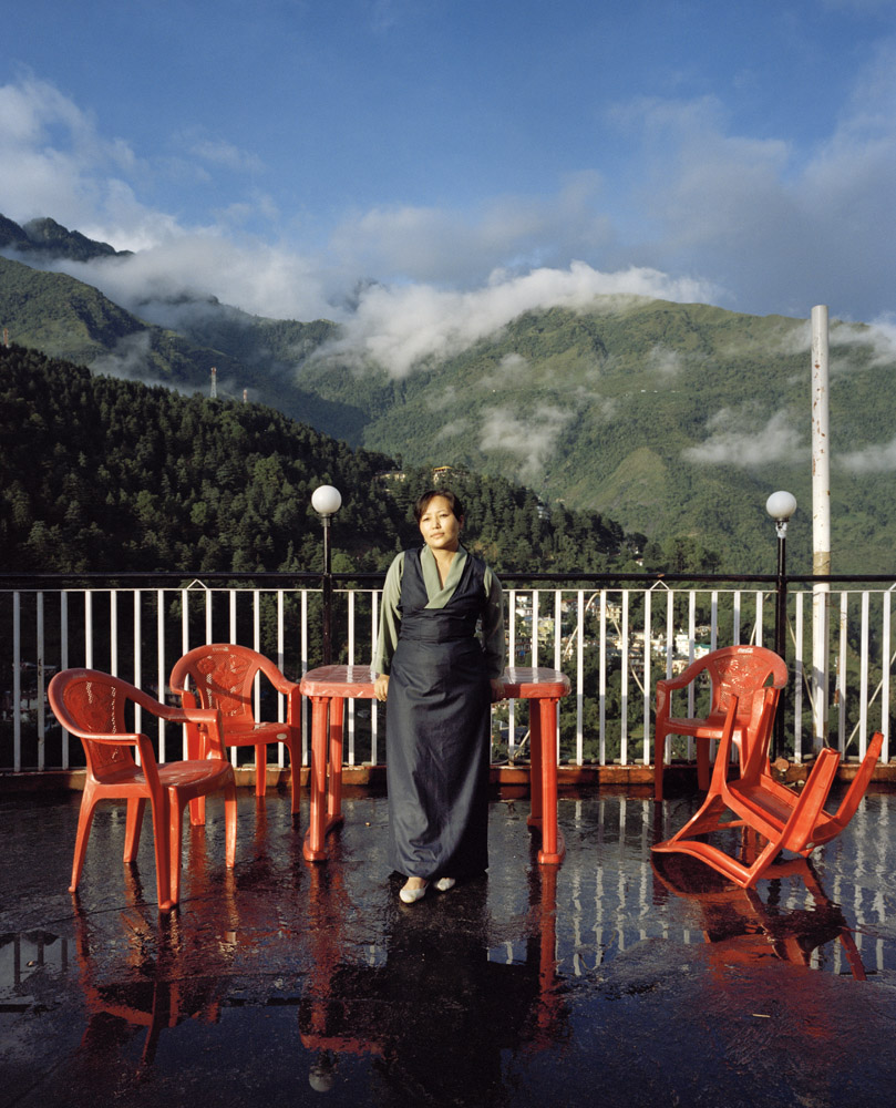 Lhakpa Kyizom is a Tibetan journalist based in Mcleodjung, Dharamsala.