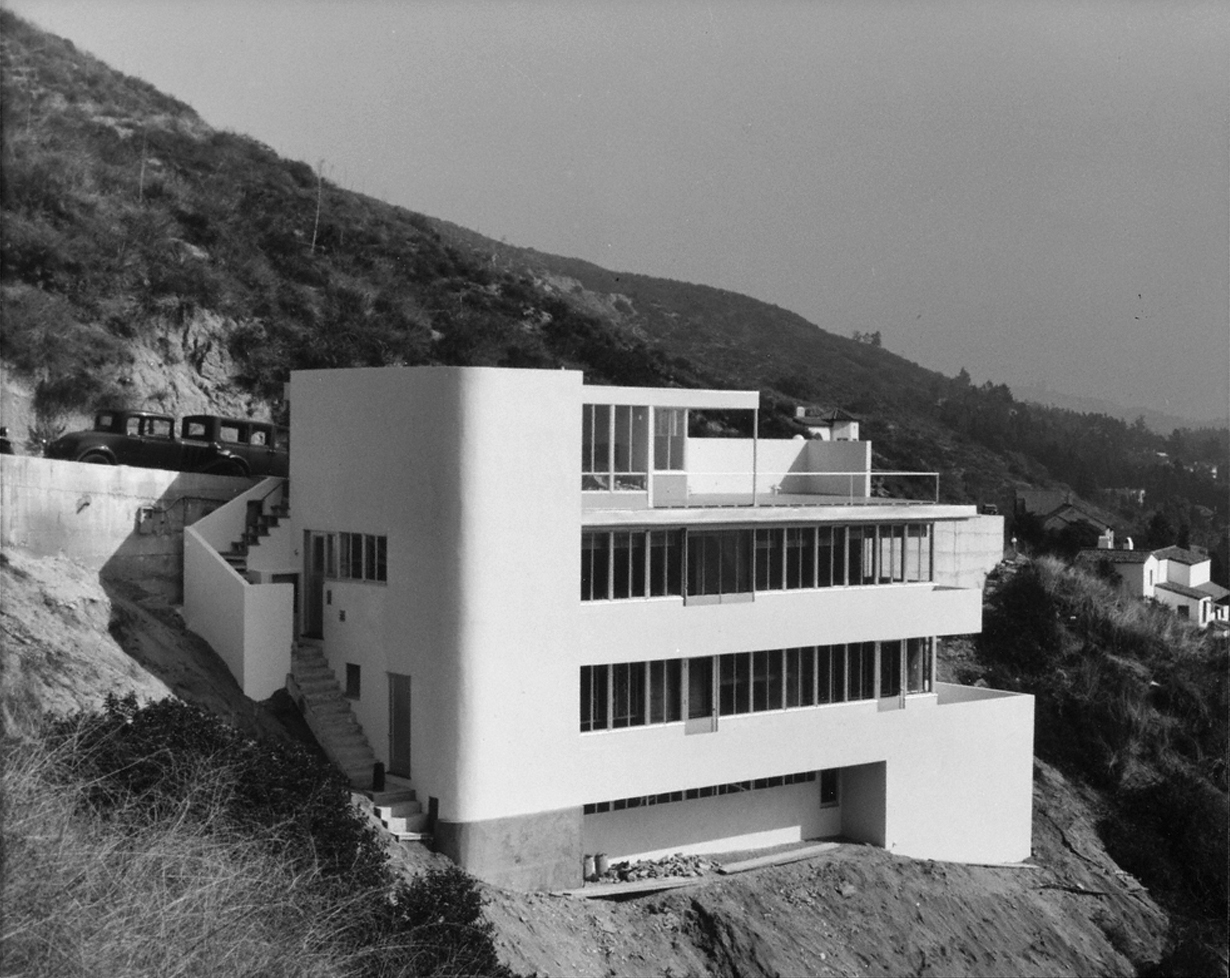 "Kun Residence, Los Angeles (""My First Photograph of Modern Architecture""). 1936 Richard Neutra, architect"