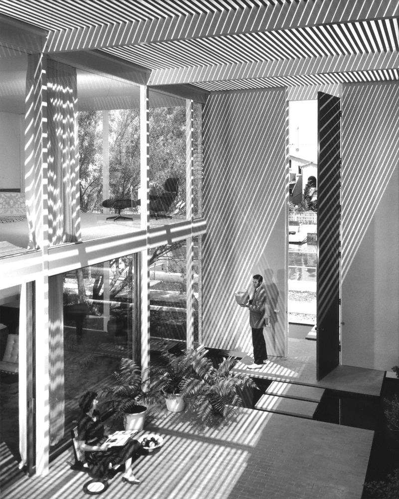 Case Study House #25, Long Beach. 1962 Killingsworth, Brady, Smith & Assoc., architects