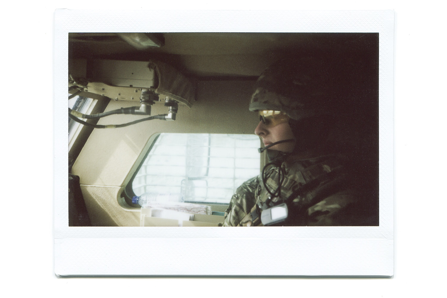 Matt's friend in the Mastiff.  We spent a lot of time in the cab, he was my commander on a few convoys. We shared a lot of laughs and conversations in the cab to pass the long periods of time.