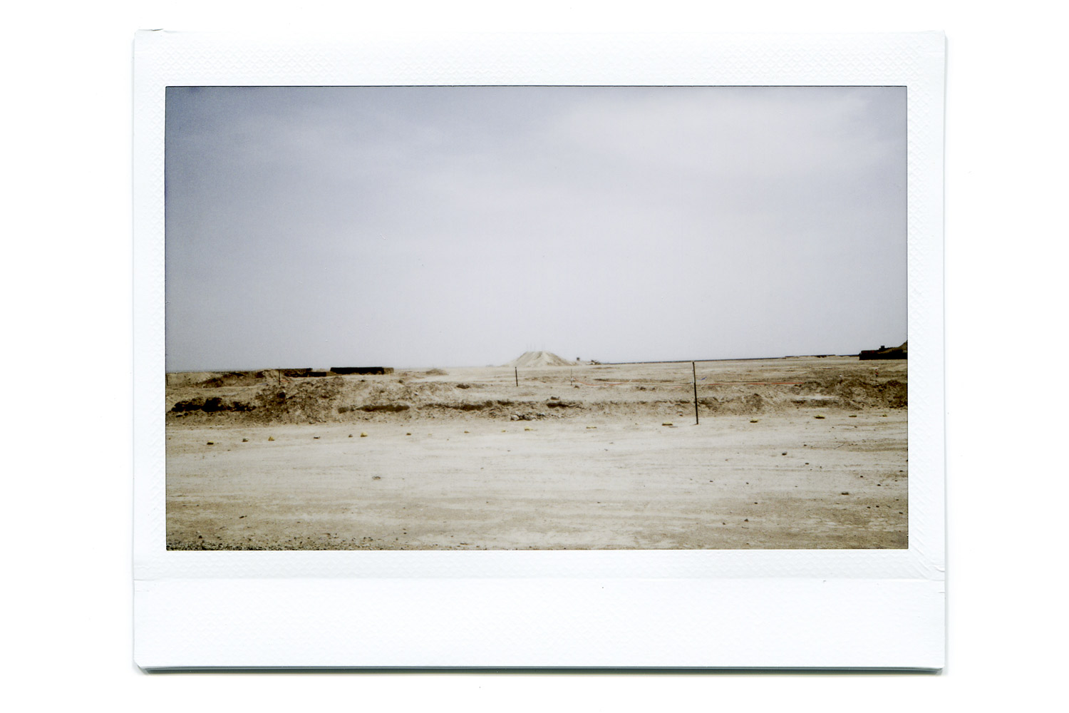 A view of the military base Camp Bastion.  A shot to show the vastness and aridness in parts of Bastion.