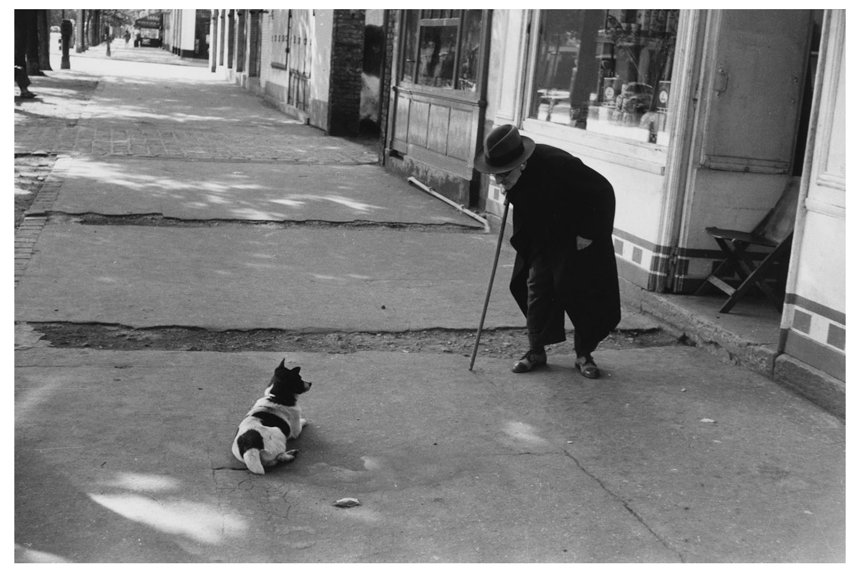 Neuilly, Paris, France, 1952.