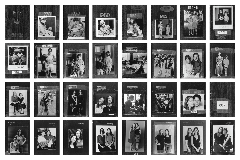 Amy and Sasha, New York City, East Hampton, Mexico and Paris, 1977-2007.