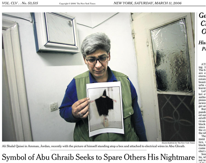 Illustration #47 Ali Shalal Qaissi New York Times Detail