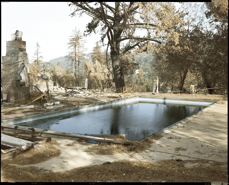 Oakland Fire #104-91 (Swimming Pool), 1991