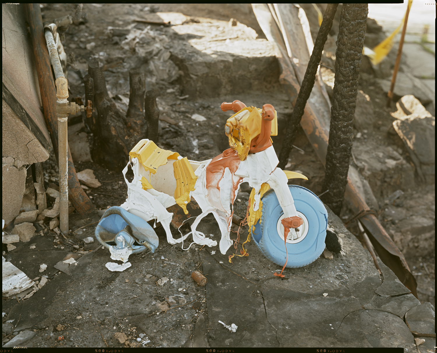 Oakland Fire #107-91 (Melted Tricycle), 1991