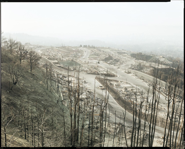 Oakland Fire #12-91 (Hiller Highlands Overview), 1991