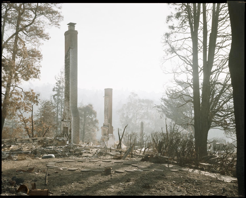 Oakland Fire #153-91 (Chimney #3), 1991
