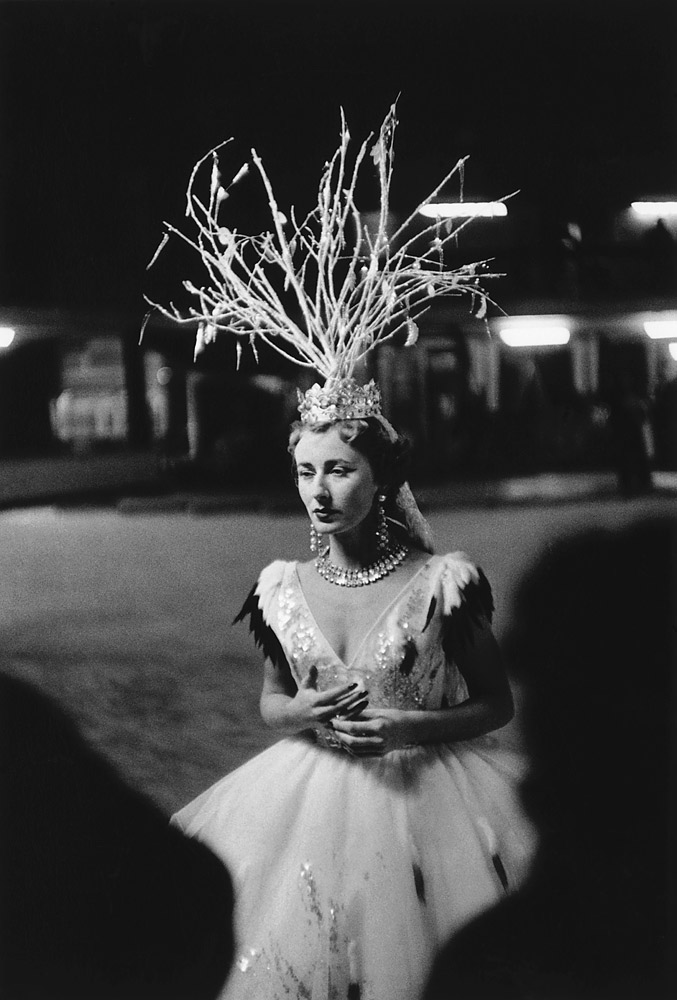 A participant rehearses for a dance titled,  Fire Vanquished by Snow.