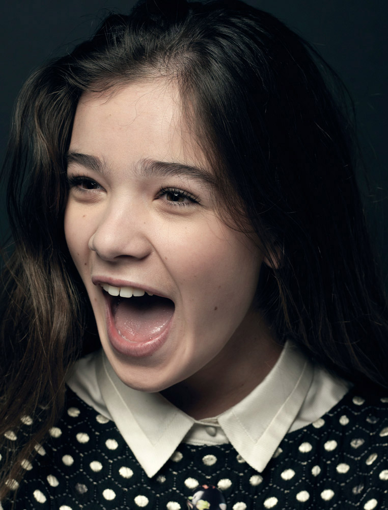Hailee Steinfeld, actress. From  Great Performances,  Feb. 21, 2011, issue.