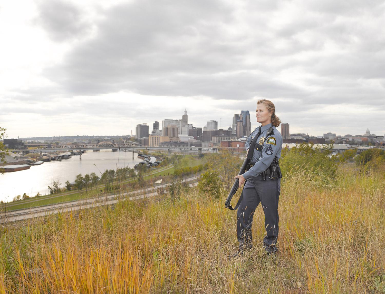 Anita, St. Paul, MN, Glock .40-caliber and Remington 11-81 Police Model