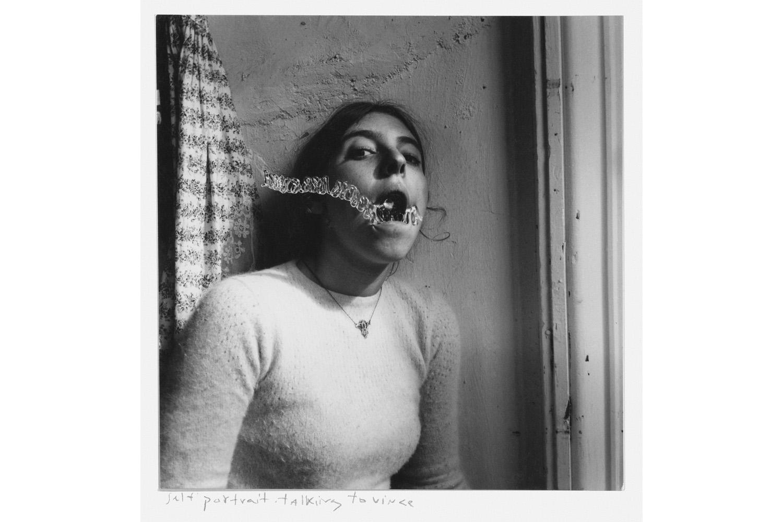 Self-Portrait Talking to Vince, 1975–78.