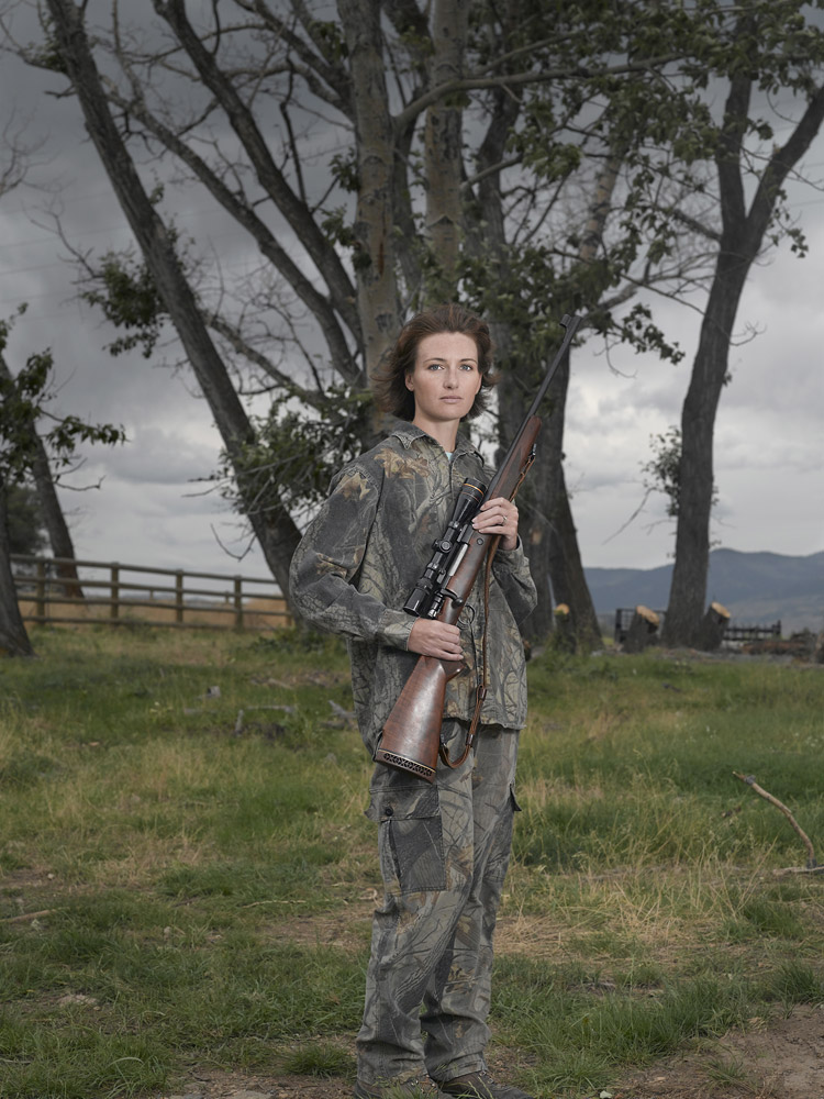Jen, Emigrant, MT, Browning .270 with a Leupold scope & handmade sling
