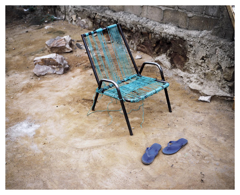 Chair, from Moi, Un Blanc series, Mali, 2010