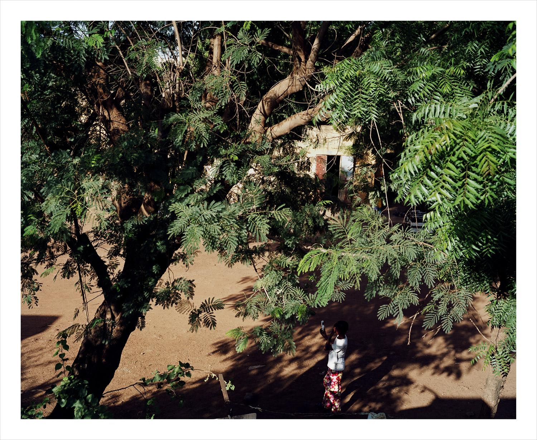 Flamboya, from Moi, Un Blanc series, Mali, 2010