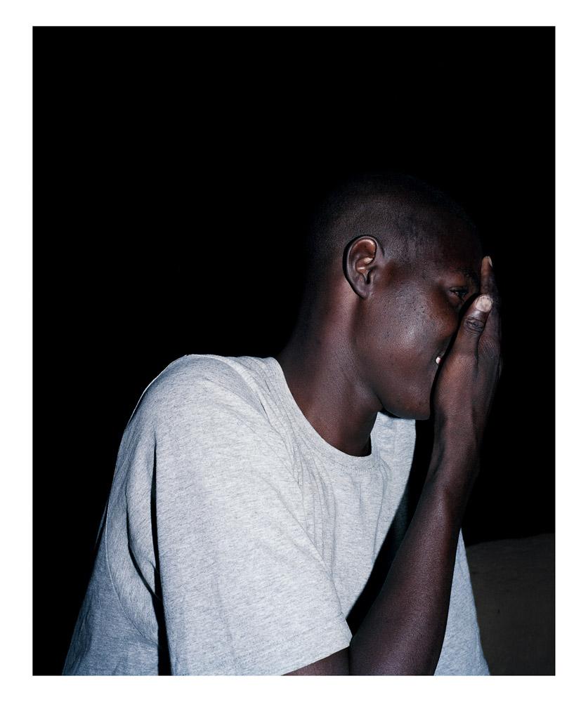 Portrait#3, from Moi, Un Blanc series, Mali, 2010