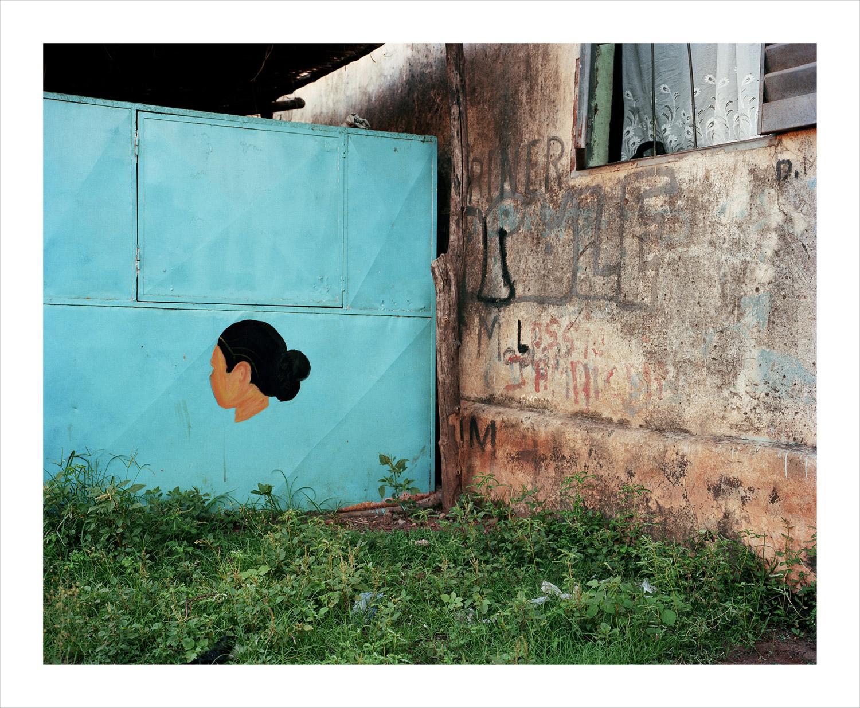 Portrait#4, from Moi, Un Blanc series, Mali, 2010