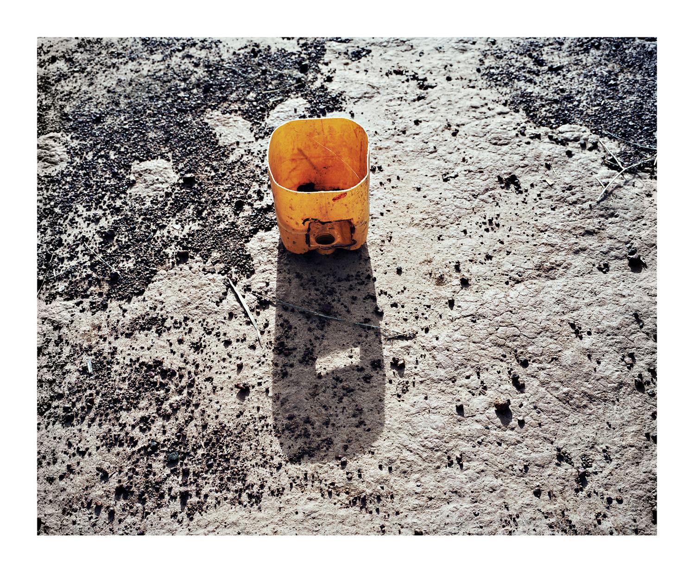 Yellow Bucket, from Moi, Un Blanc series, Mali, 2010