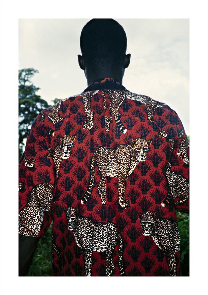 Leopard shirt, from Moi, Un Blanc series, Mali, 2010