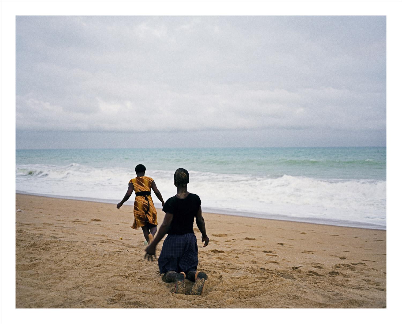Couple, from Moi, Un Blanc series, Benin, 2010
