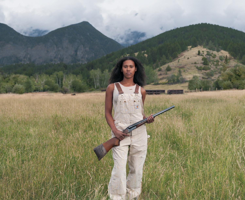 Medina, Three Forks, MT, Bounty Hunter 12-gauge side-by-side coach gun