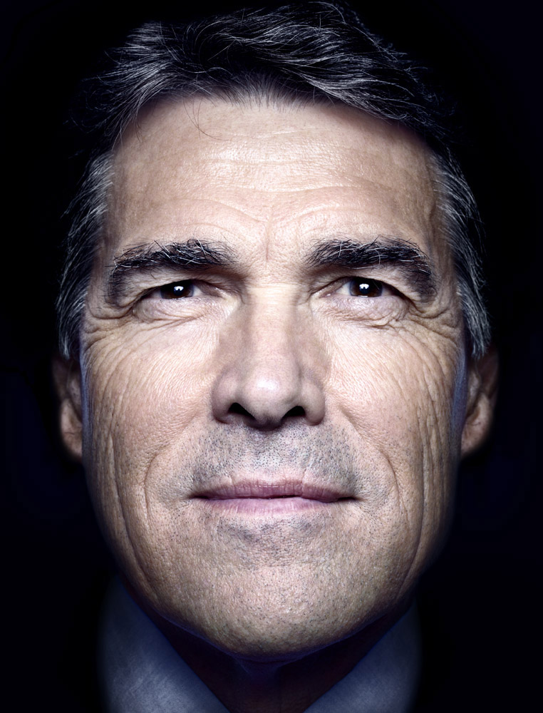 Rick Perry, Texas governor and U.S. presidential candidate. From  Rick Perry's Mission,  Sept. 26, 2011, issue (cover story).