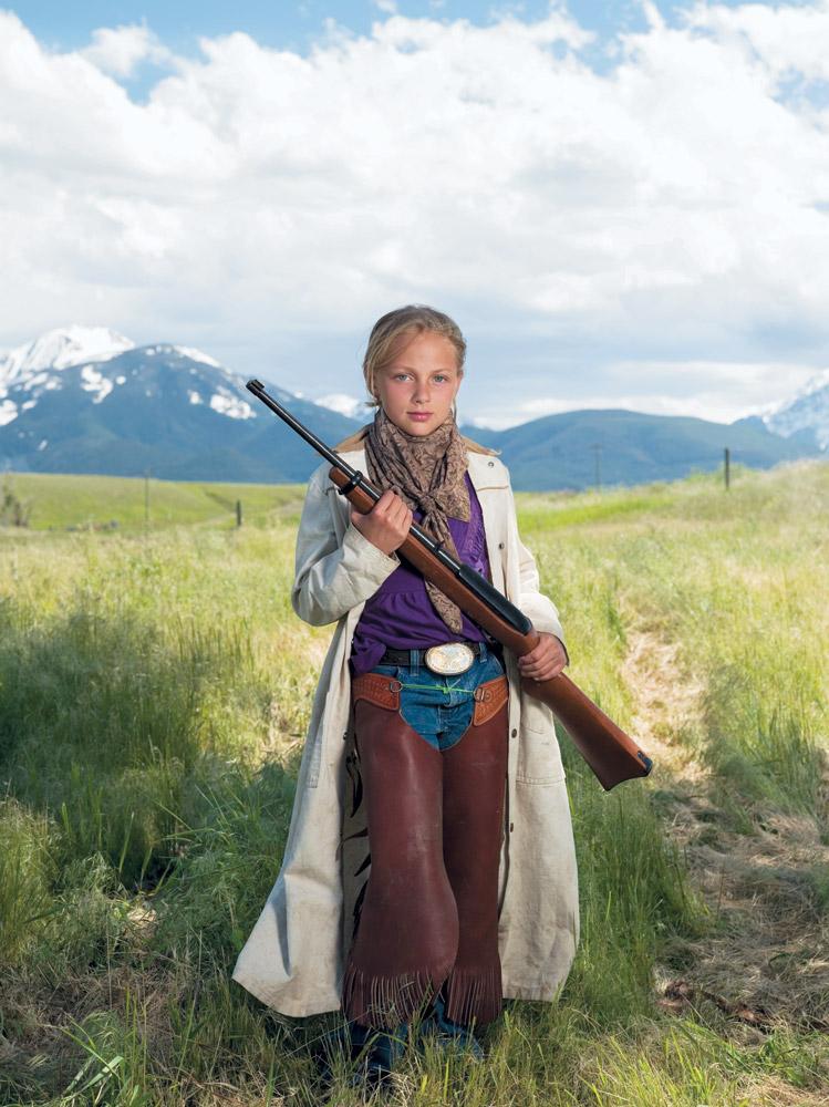 Rachel, Livingston, MT, Ruger 10/22 carbine