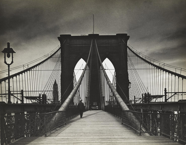 Untitled (Brooklyn Bridge), 1938