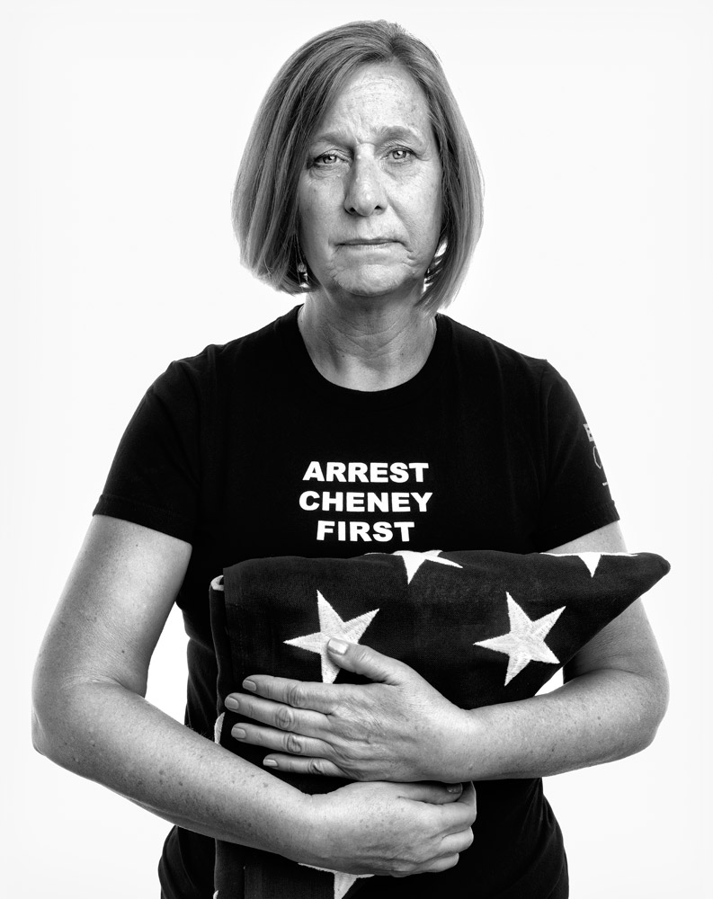 Cindy Sheehan, antiwar activist and mother of Casey Sheehan, a soldier who was killed in Iraq in 2004. From  Beyond 9/11: Portraits of Resilience,  Sept. 19, 2011, issue.
