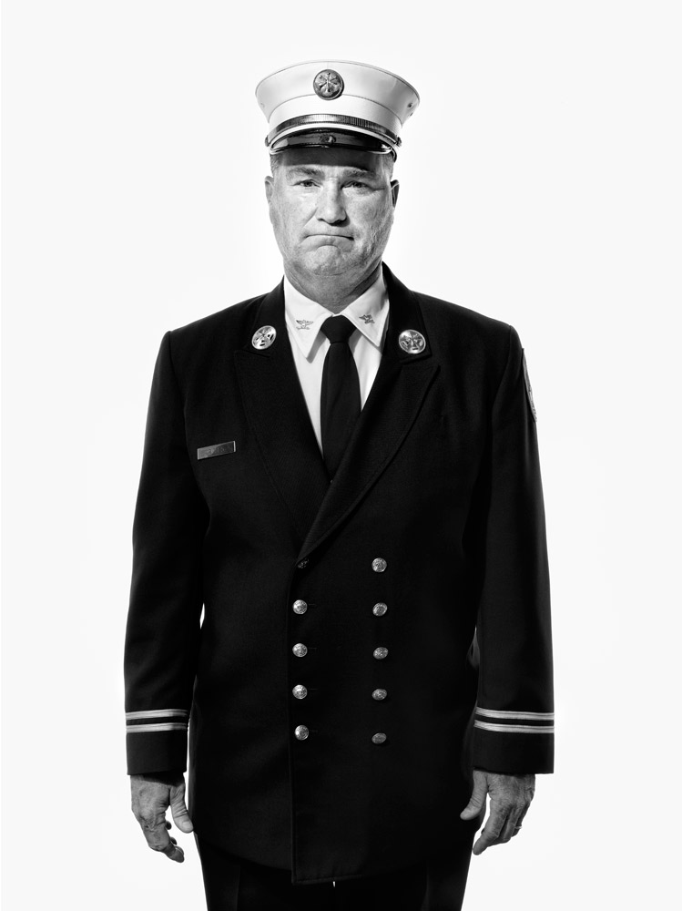 Jim Riches, retired deputy chief, New York City Fire Department. From  Beyond 9/11: Portraits of Resilience,  Sept. 19, 2011, issue.