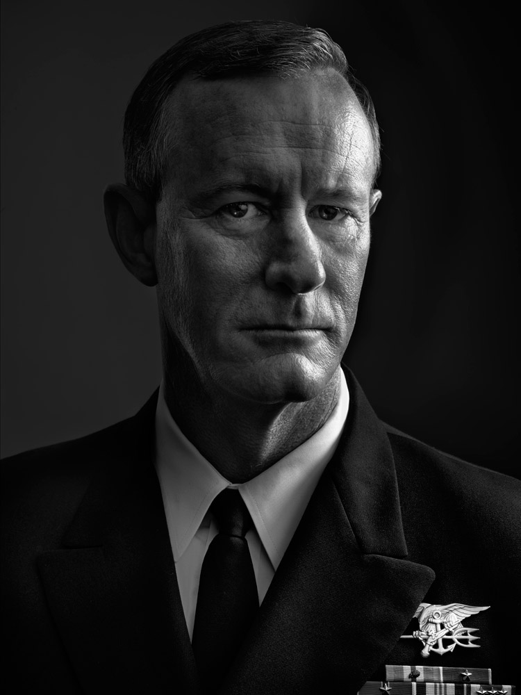 William McRaven, four-star Admiral; Commander, U.S. Special Operations Command. From  Beyond 9/11: Portraits of Resilience,  Sept. 19, 2011, issue.