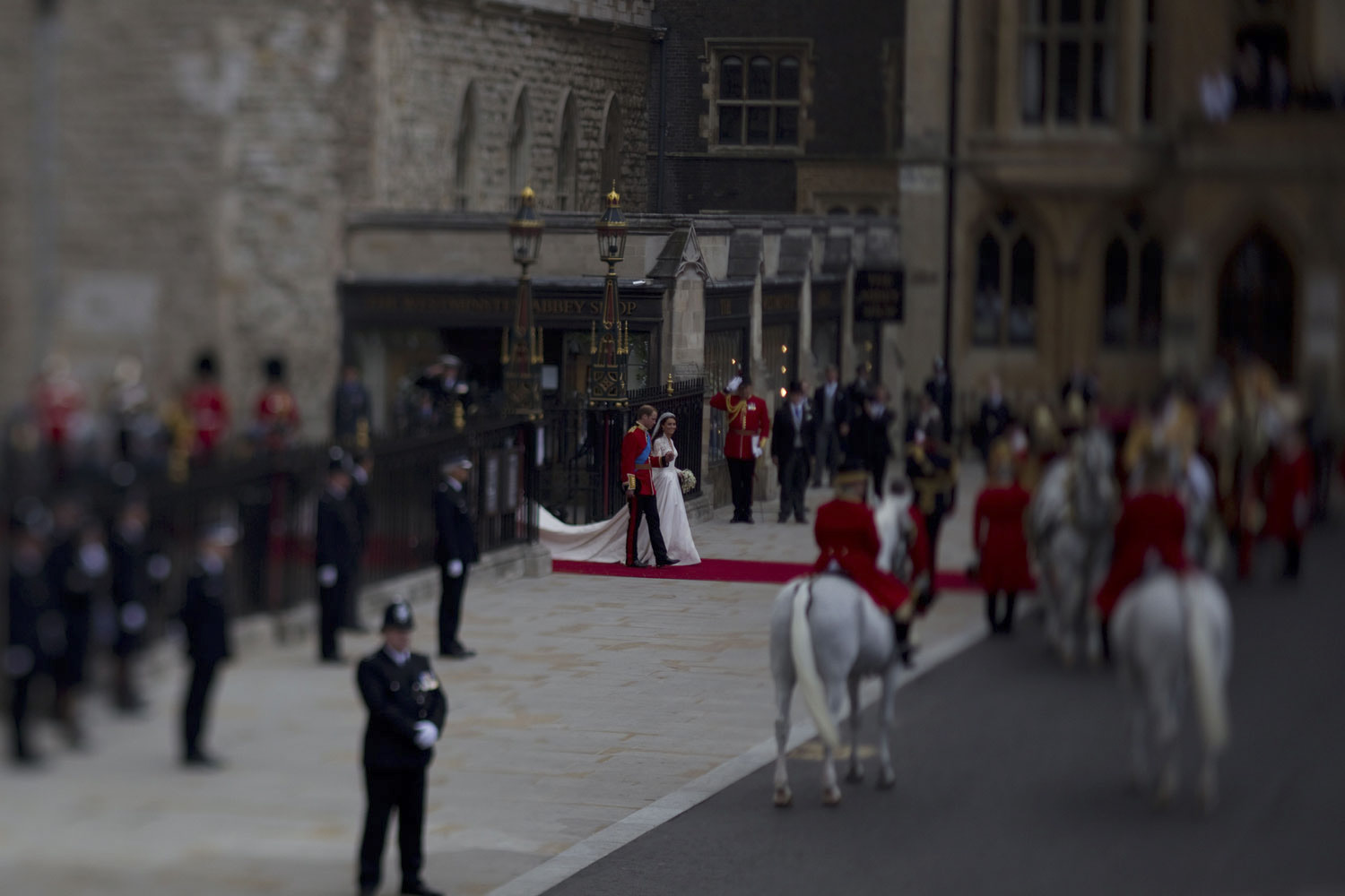 April 29, 2011. Prince William and Kate Middleton tie the knot at Westminster Abbey in London.