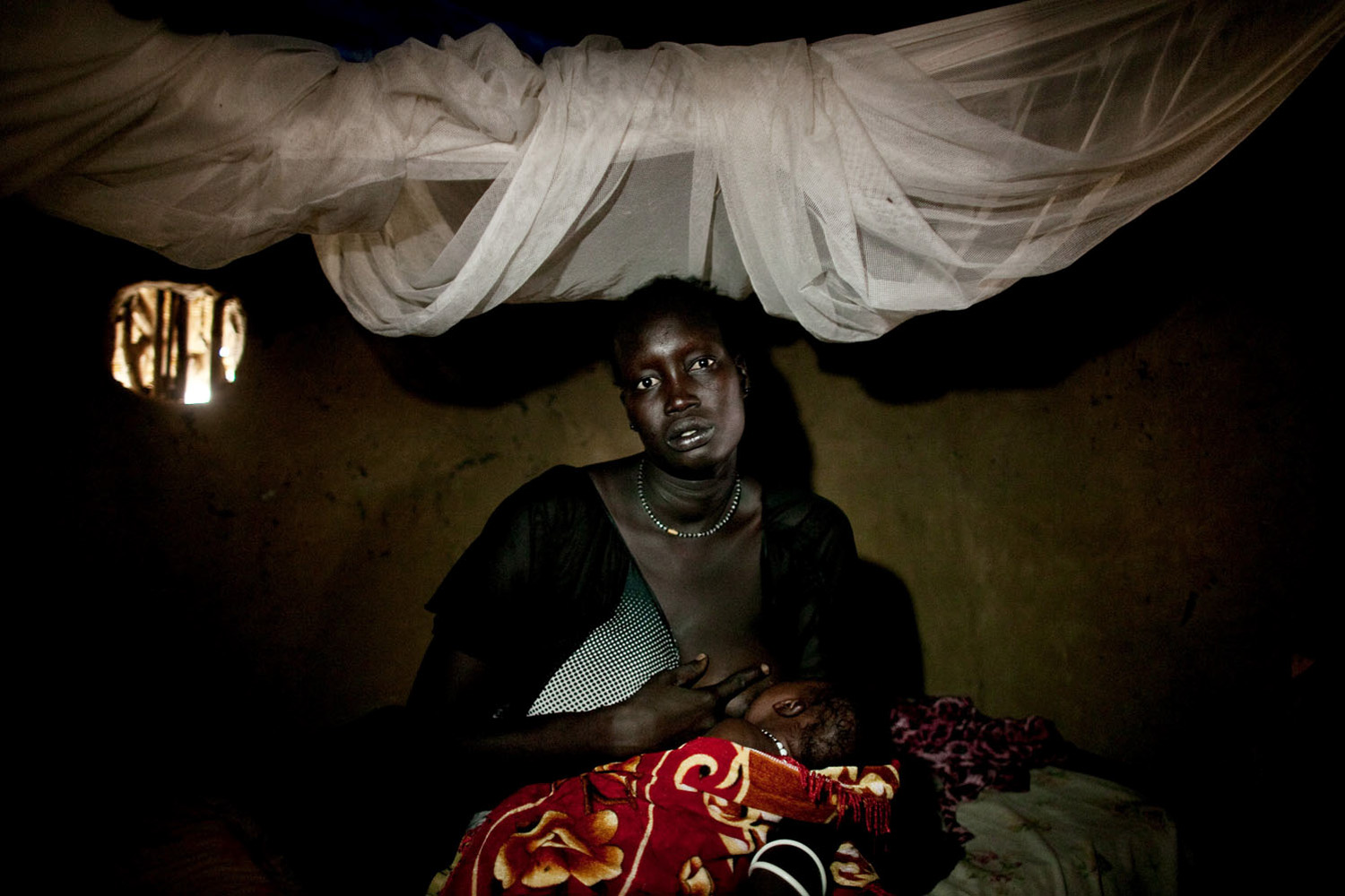 April 7, 2011. A survivor of a recent massacre in Fangak, southern Sudan. The massacre occurred when forces loyal to rebel General George Athor attacked the town of Fangak in February, leaving more than 200 dead.